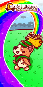 St Patricks Corgi Rainbow